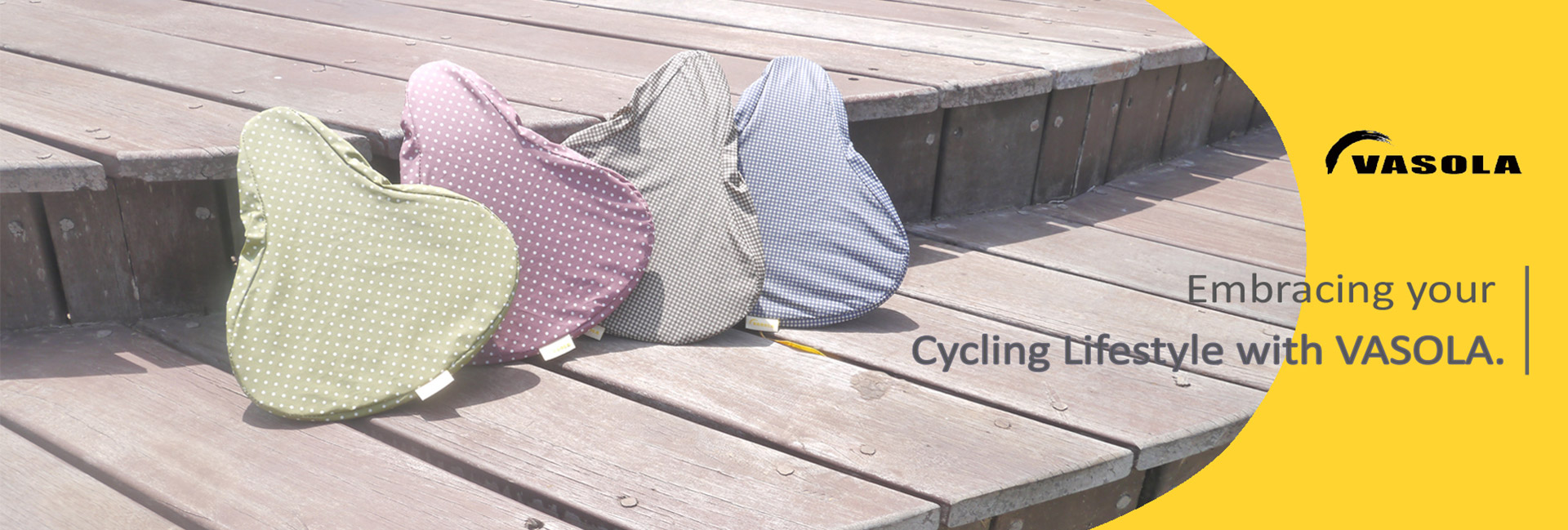 VASOLA saddle cover for cyclist